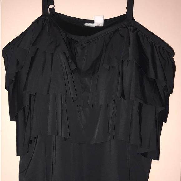 cc046d11e02b4 Roamans Bathing Suit Swim Dress Plus Size 28W NWOT